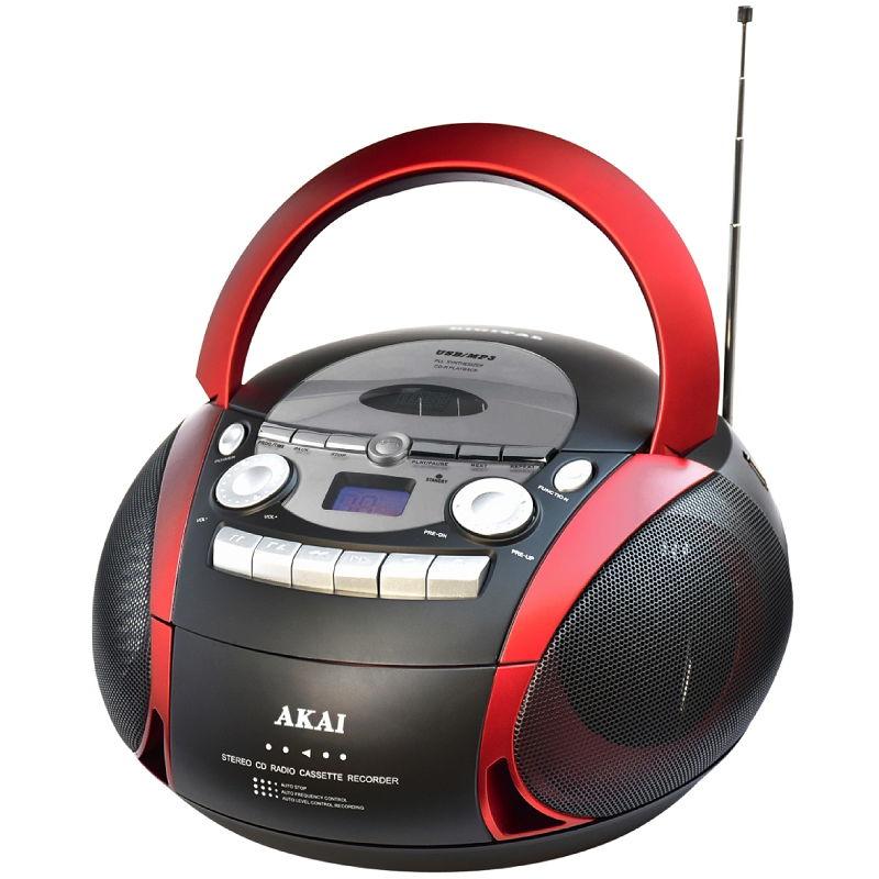 Akai aprc 90 portable cassette radio cd player with usb 5w - Porta cd auto simpatici ...