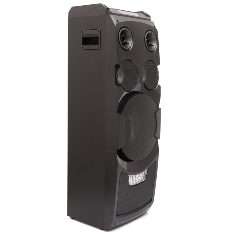 AKAI ABTS-W5 KARAOKE PARTY SPEAKER SYSTEM WITH BLUETOOTH AND LED ... bef6e9dedf1
